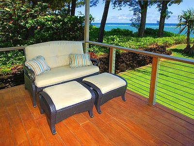 30 ft. Plantation Style Family Deck; Cozy Nook Reading, Whale Watching......