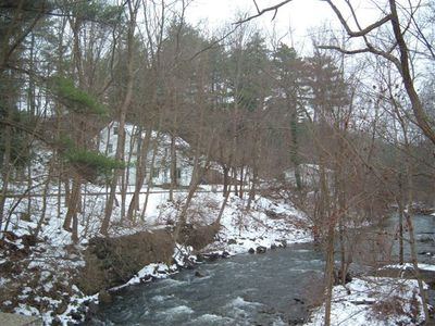 Williams River in winter
