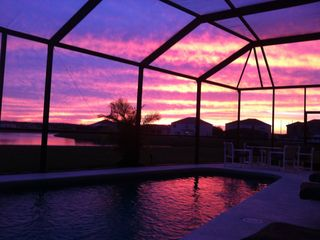 Crescent Lakes villa photo - beautiful sunsets