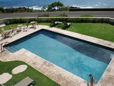 Alihi Lani has one of the only oceanfront pools on Kauai.