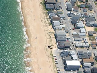 Salisbury Beach cottage photo - Just steps from sand. Can't get closer than this at such a great price!