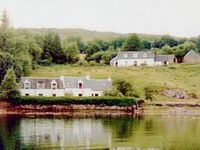 Two seaside cottages in Lochcarron,Wester Ross,Scottish Highlands