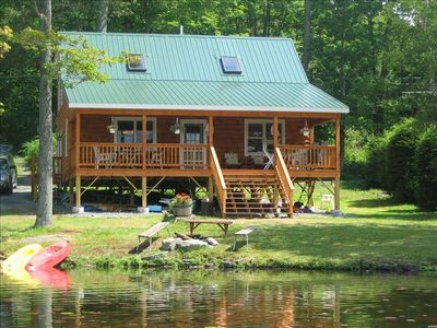 Lakefront Cabin In Northeast P A Vrbo