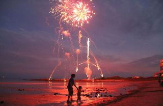 Kennebunkport house photo - Enjoy the fireworks while at the beach.