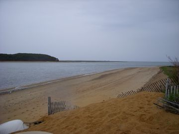 Private beach on Pleasant Bay