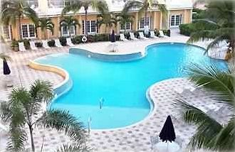 Resort Style Pool with Waterfall, Jacuzzi, Clubhouse & Grilling Area