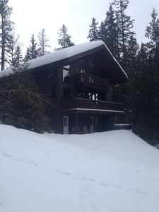 View of house from the ski out!
