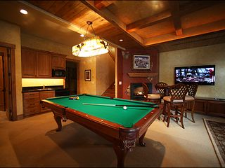 "Baldy Mountain Breckenridge house photo - 55"" TV and Billiards Bring the Rec Room Together"