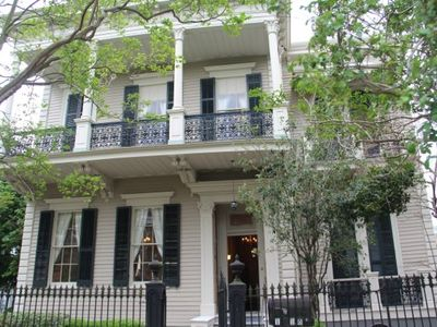 New Orleans house rental - Front of Mansion