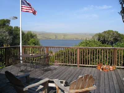 enjoy your morning coffee, lunch, a good book and the view of Tomales Bay