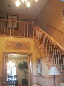 Lake Worth house rental - Front stairs (there are back stairs too)