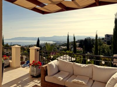 Stunning Sea And Mountain Views From Villa With Private Pool