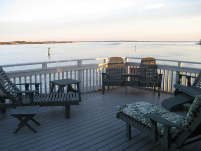 Bayfront Deck 500+ sq. ft.