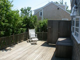 Siasconset house photo - Outdoor Shower and Deck