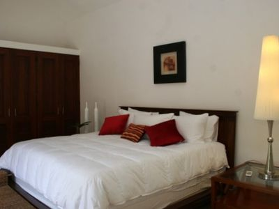 Casa De Campo villa rental - Outdoor Guest Suite - King bed and indoor & outdoor showers.