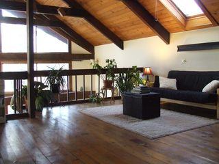 Ithaca lodge photo - Sleeping loft