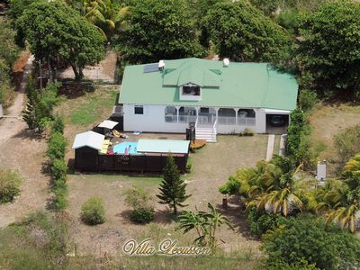 . Villa Kreyol LECUSSON with swimming pool and sea view