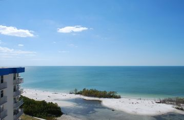 Estero condo rental - Views of the Gulf of Mexico & Sanibel Island from your Balcony