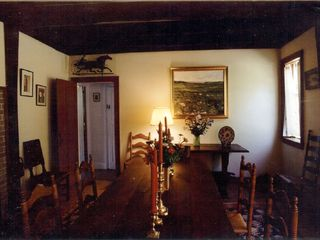 Wellfleet house photo - Dining room