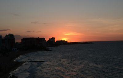 Condado apartment rental - Sunset view from Living Room