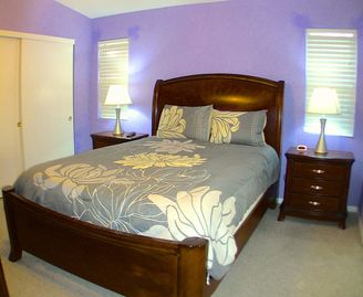 Bedroom #3 - Queen Size Bed and Flat Panel TV