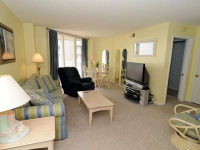 North Topsail Beach condo rental - Living Room
