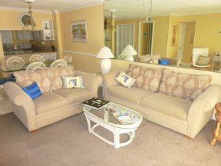 The open living room for your convenience. - Fort Walton Beach condo vacation rental photo
