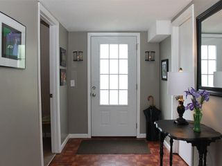 Nashville townhome photo - Hallway Leading To Third Bedroom, 1/2 Bathroom, Laundry Area, & Outdoor Patio