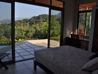 Ojochal villa photo - Bedroom Mountain View