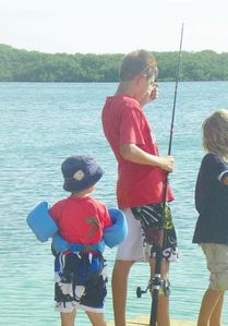 The Kids Fishing