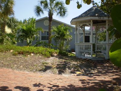 Treasure Island house rental - MermaidPass entrance from Gazebo