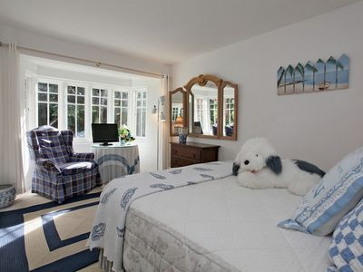 Middle Bedroom with French Cottage Windows.
