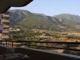 Alanya apartment photo - terrace side of both bedrooms, mountainview