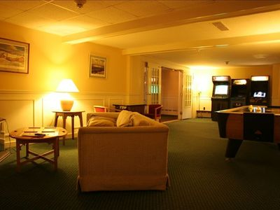 Stowe condo rental - shared game room at Inn at the Mountain