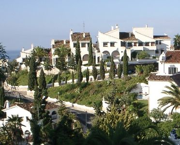 Beautiful traditional Spanish apartment, stunning sea view, near golf