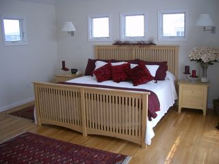 Master bedroom. - Holgate house vacation rental photo