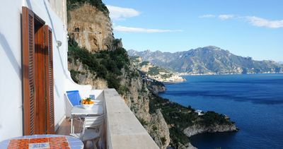 Amalfi Coast : mansion with  beautiful sea view