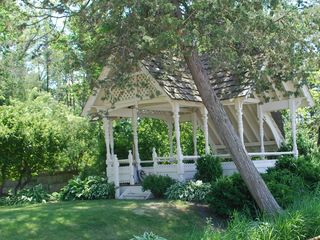 Oconomowoc house photo - Here is the outside terrace gazebo.