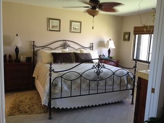 Hutchinson Island apartment photo - New King Size Bed and Mattress.