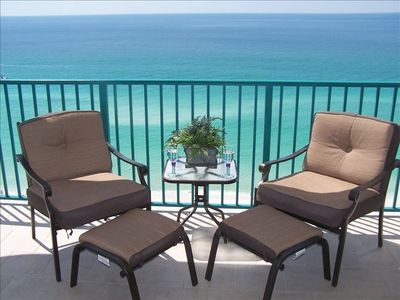 Come and RELAX on Your Large Private Balcony!