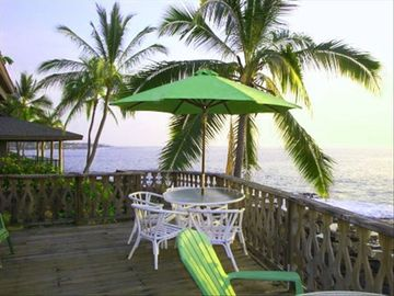 Kailua Kona cottage rental - Imagine lazing away whale watching, and spinner dolphins spin!