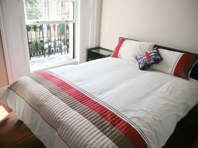 Camden Town apartment rental - Your own private balcony off the bedroom