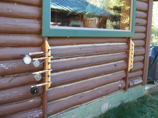 Bozeman house photo - Rods on Rack