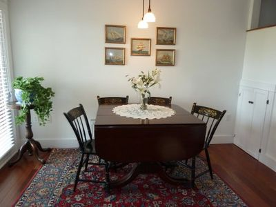 Blue Hill condo rental - Dining area