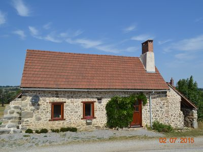 Cottage With Stunning Views Of The Creuse Countryside From Private Terrace