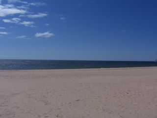 Muskegon cottage photo - Big beautiful beach