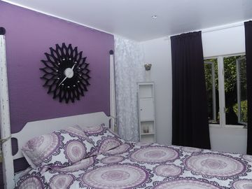 One of our 6 newly renovated bedrooms w/ queen bed