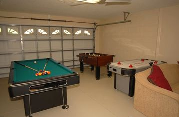 New air conditioned games room