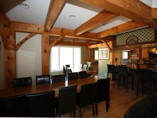 Tannersville house photo - Dining Room and Bar area with seating for over 20 people!
