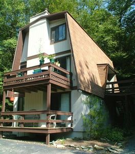 Sugar Mountain chalet rental - Front View of Chalet